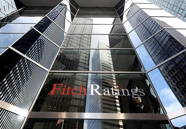 Sede da agência de classificação Fitch em Nova York (Foto: Getty Images)