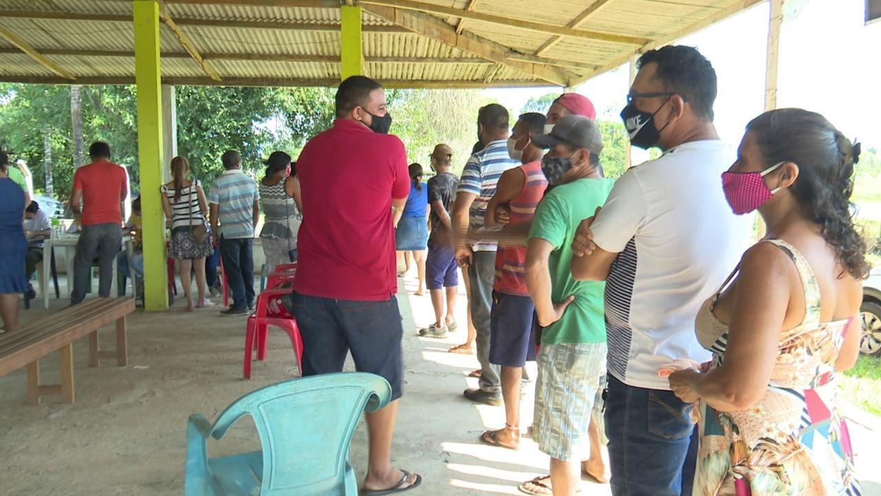 Saúde faz mutirão na zona rural para vacinar público geral a partir de 18 anos em Rio Branco