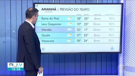 Tempo segue instável no Sul do Rio nesta quinta-feira