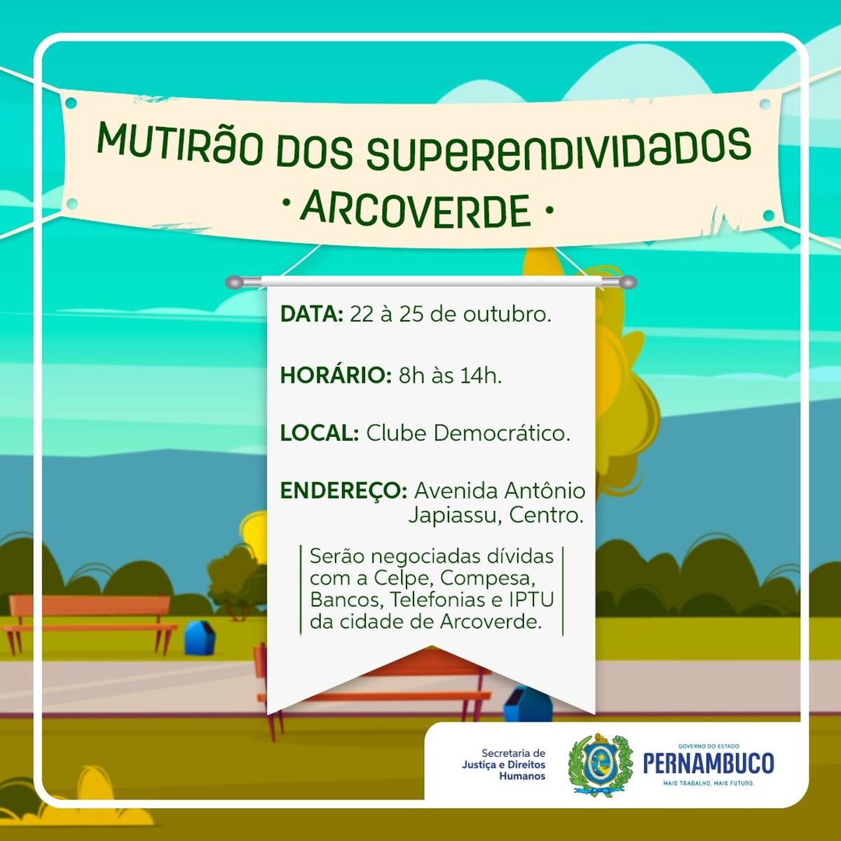 Procon promove 'Mutirão dos Superendividados' em Arcoverde | Caruaru e Região - G1