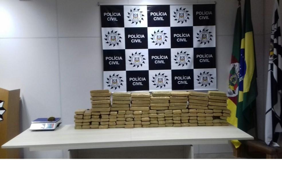 A organização criminosa era comandada de dentro dos presídios gaúchos. (Foto: Polícia Civil/Divulgação)