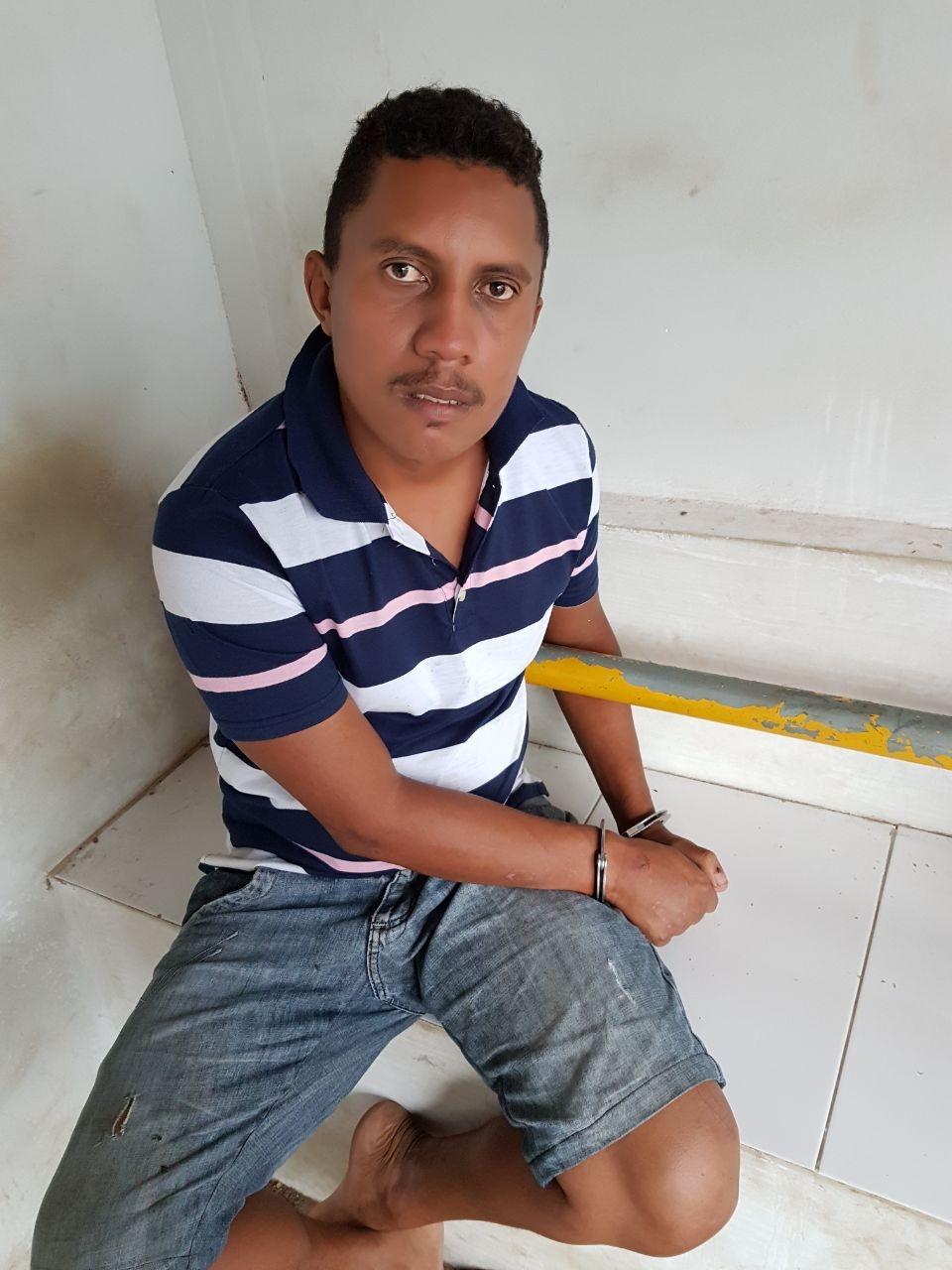 Homem é preso por agredir mulher com uma ripa no Maranhão