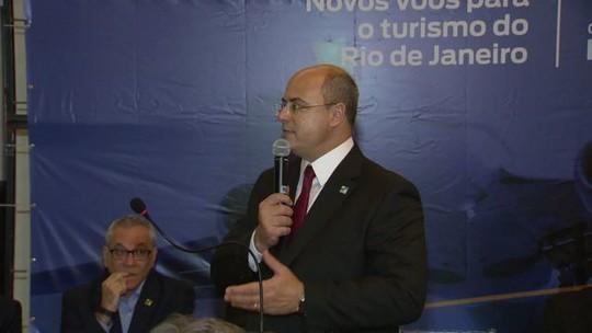 'Tiroteio não é a realidade do Rio de Janeiro', afirma Witzel