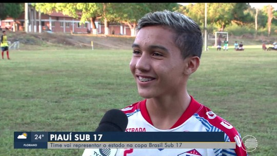 A um mês da estreia, Piauí reforça preparação e busca reforços para Copa do Brasil sub-17