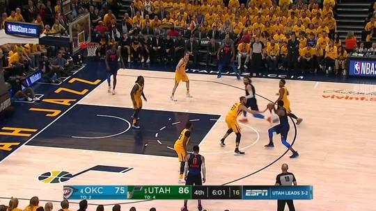 Mitchell x Westbrook: calouro vence duelo épico, e Jazz elimina o Thunder