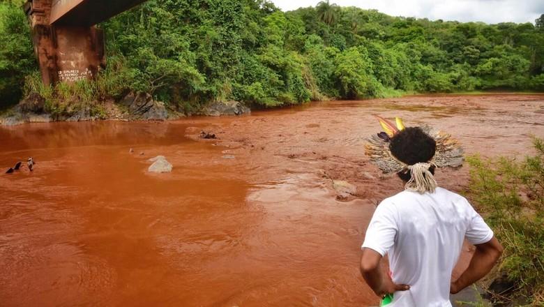 indigenas-paraopeba-brumadinho (Foto: Lucas Hallel/Funai)