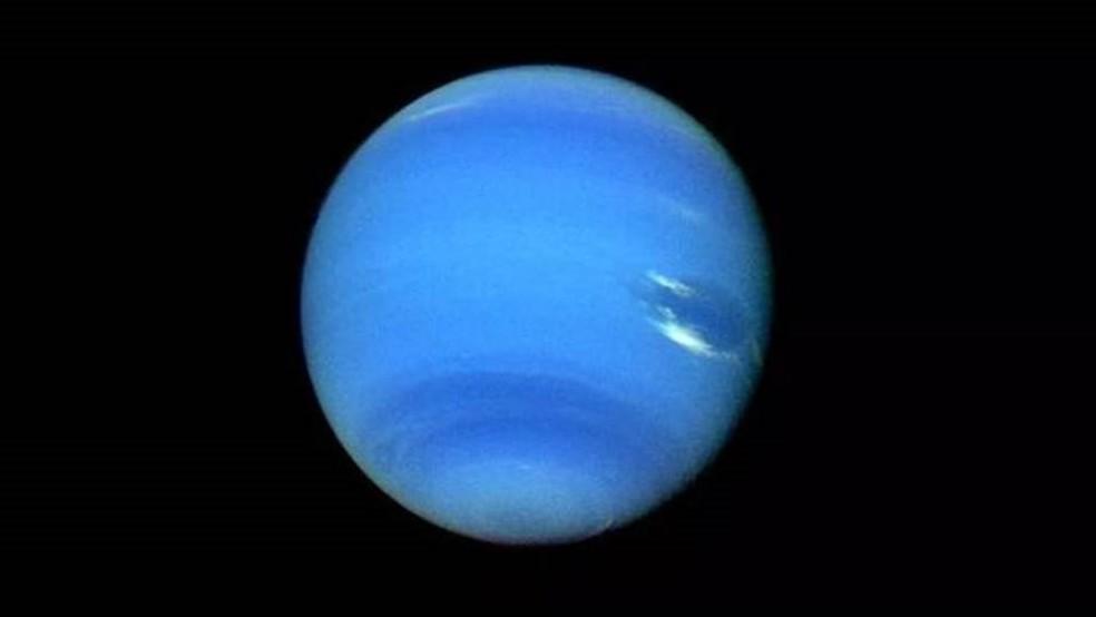 Netuno foi descoberto a partir de cálculos, e não da simples observação — Foto: Getty Images/BBC