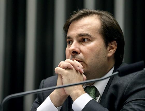 Rodrigo Maia (Foto: Fabio Rodrigues Pozzebom/ Agência Brasil)