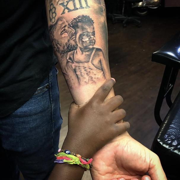 Nova tatuagem de Bruno Gagliasso (Foto: Reprodução Instagram)
