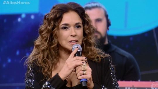 Daniela Mercury vai ser avó e quer aumentar a família: 'Daqui a pouco faço mais um filho'