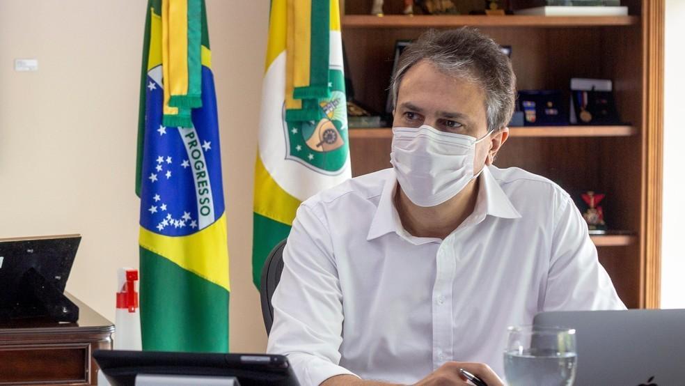 Governador do Ceará, Camilo Santana.  — Foto: Divulgação