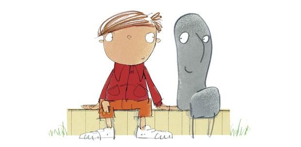 A Verdade Segundo Arthur, texto de Tim Hopgood e ilustrações de David Tazzyman, Brinque-Book, R$ 37. A partir de 2 anos. (Foto: Reprodução)