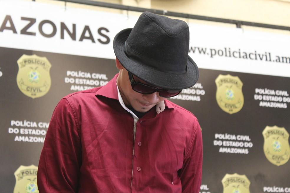 Ângelo Ricardo usou roupas da vítima para fugir do local do crime — Foto: Patrick Marques/G1 AM