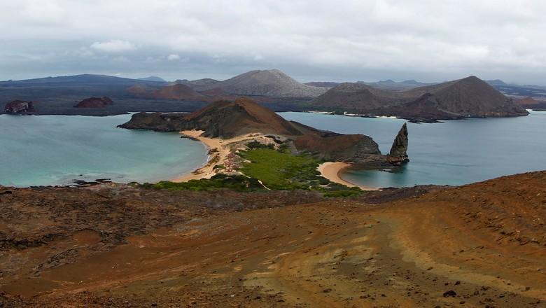Ilha do arquipélago de Galápagos, no Equador, em 2013 (Foto: REUTERS/Jorge Silva)