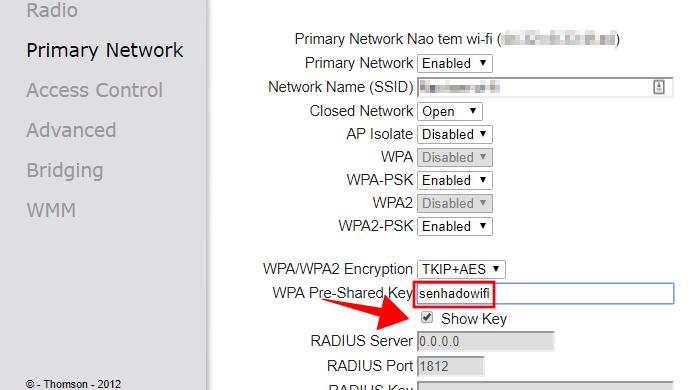 Como mudar a senha do Wi-Fi no roteador Thomson   Roteadores   TechTudo