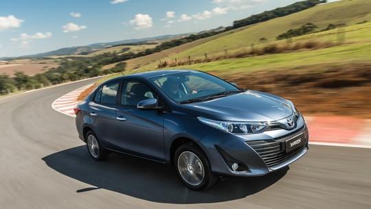 Toyota Yaris Sedan XLS: primeiras impressões