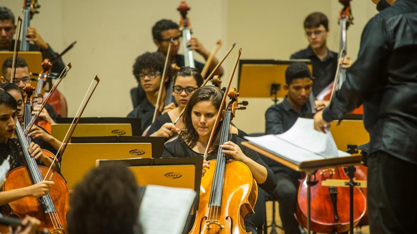 Orquestra Sinfônica Jovem da Paraíba inicia temporada nesta quinta-feira, em João Pessoa