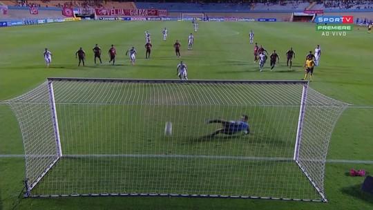 Os gols de Vila Nova 1 x 1 Oeste, pela Série B do Brasileirão