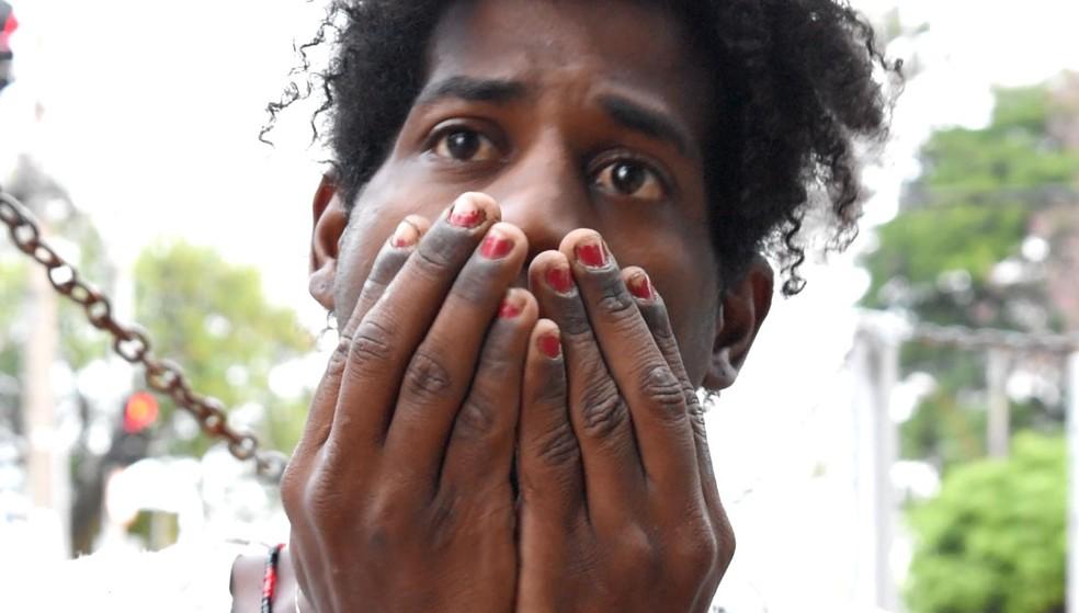 Adriana relata que sobreviveu a quatro hipotermias nas ruas de Campinas (SP) (Foto: Fernando Evans/G1)