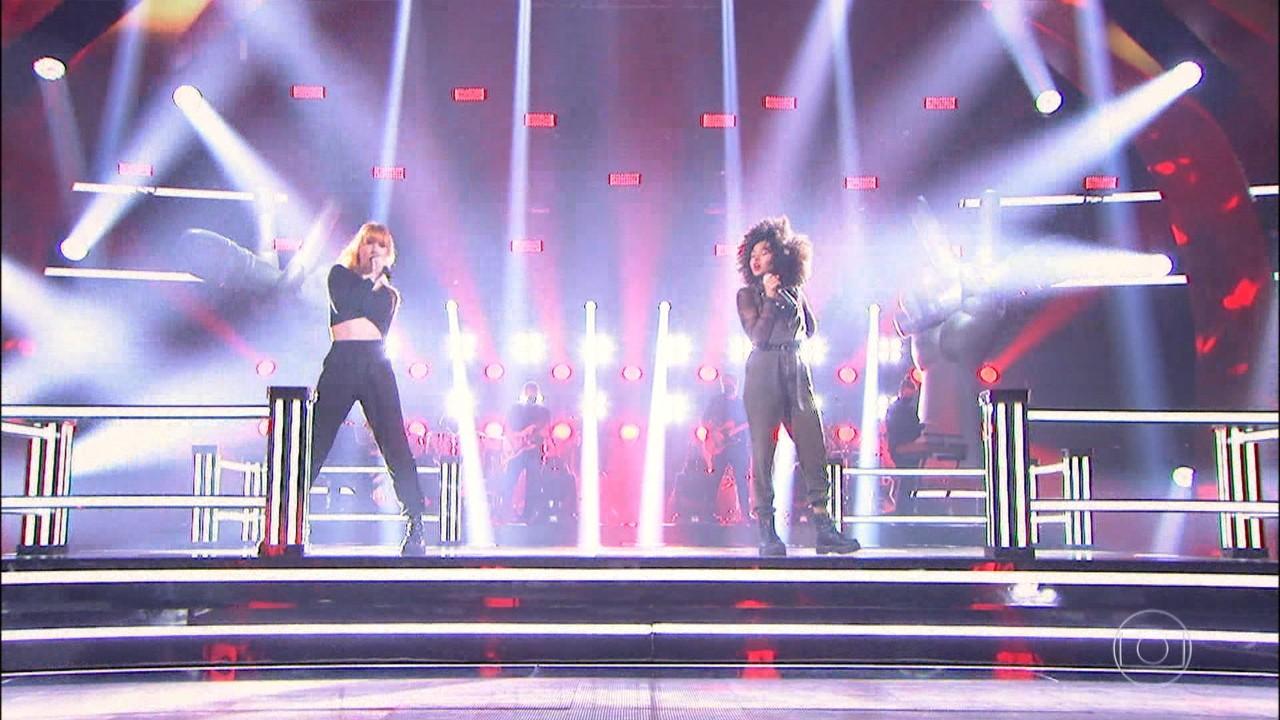 Daphne e Natasha cantam 'Pesadão'