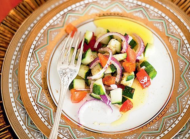 Salada com especiarias (Foto: Ricardo Corrêa/Editora Globo)