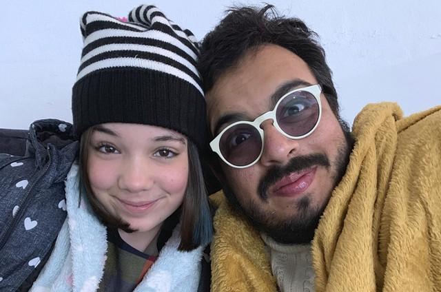 Luis Lobianco e Giulia Benites (Foto: Divulgação)