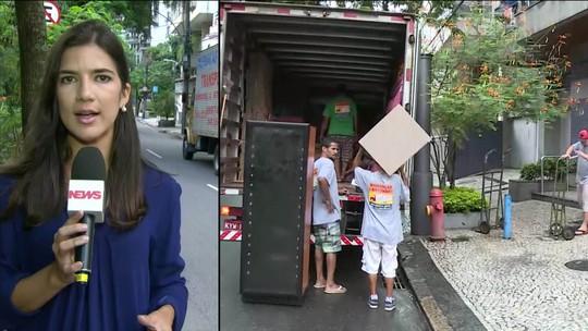 Justiça autoriza e Adriana Ancelmo começa mudança para cobertura na Lagoa, Rio