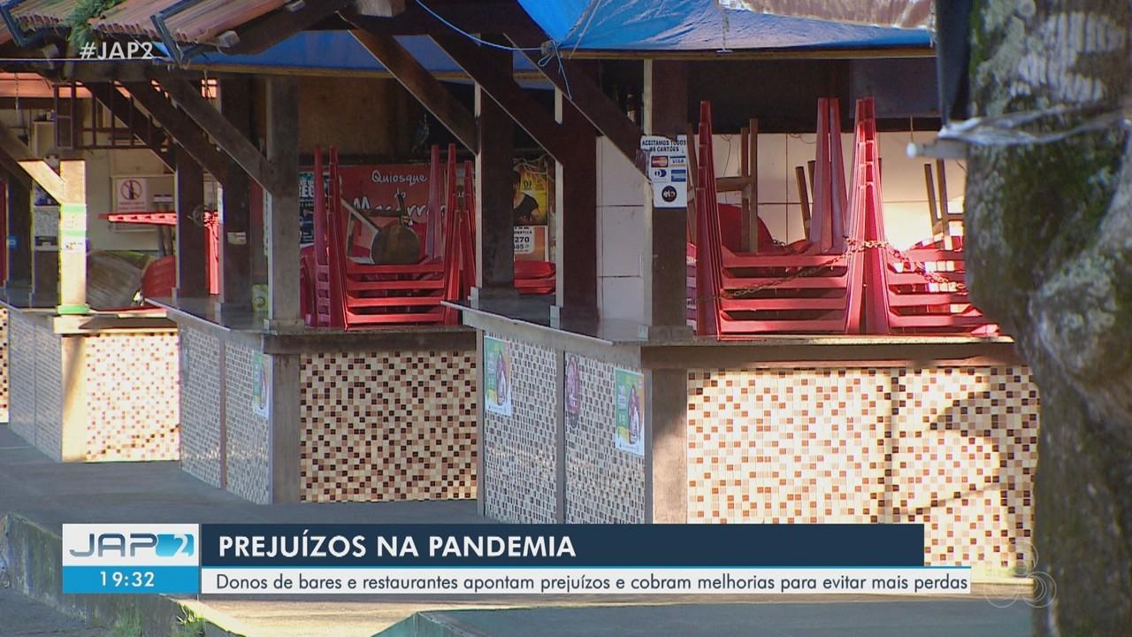 Donos de bares e restaurantes do Amapá cobram melhorias para evitar perdas na pandemia