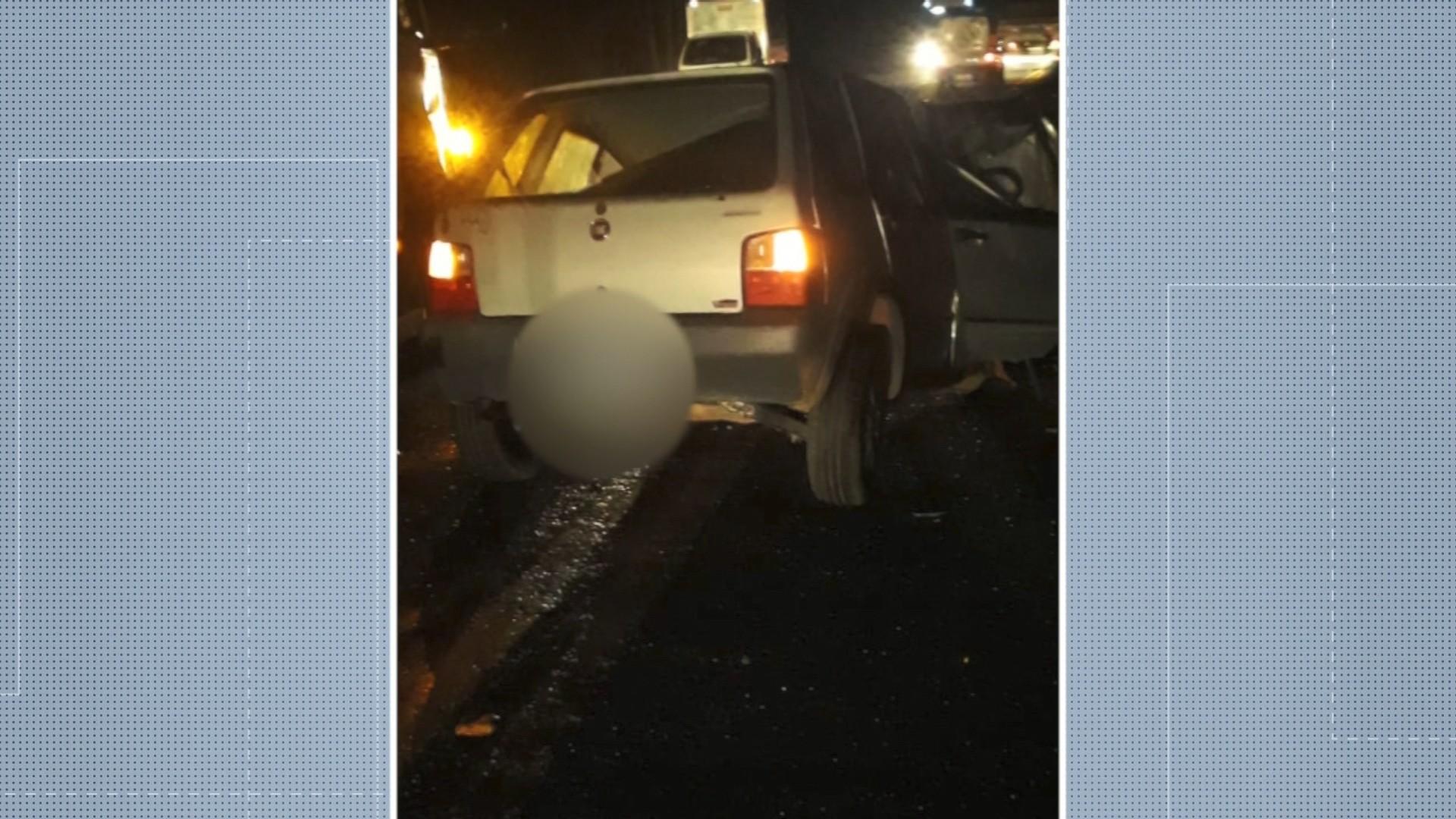 Homem morre em acidente na BR-101, na Serra, no ES