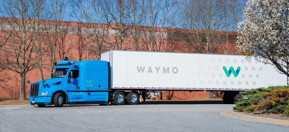 Caminhão autônomo da Waymo (Foto: Waymo/Divulgação)
