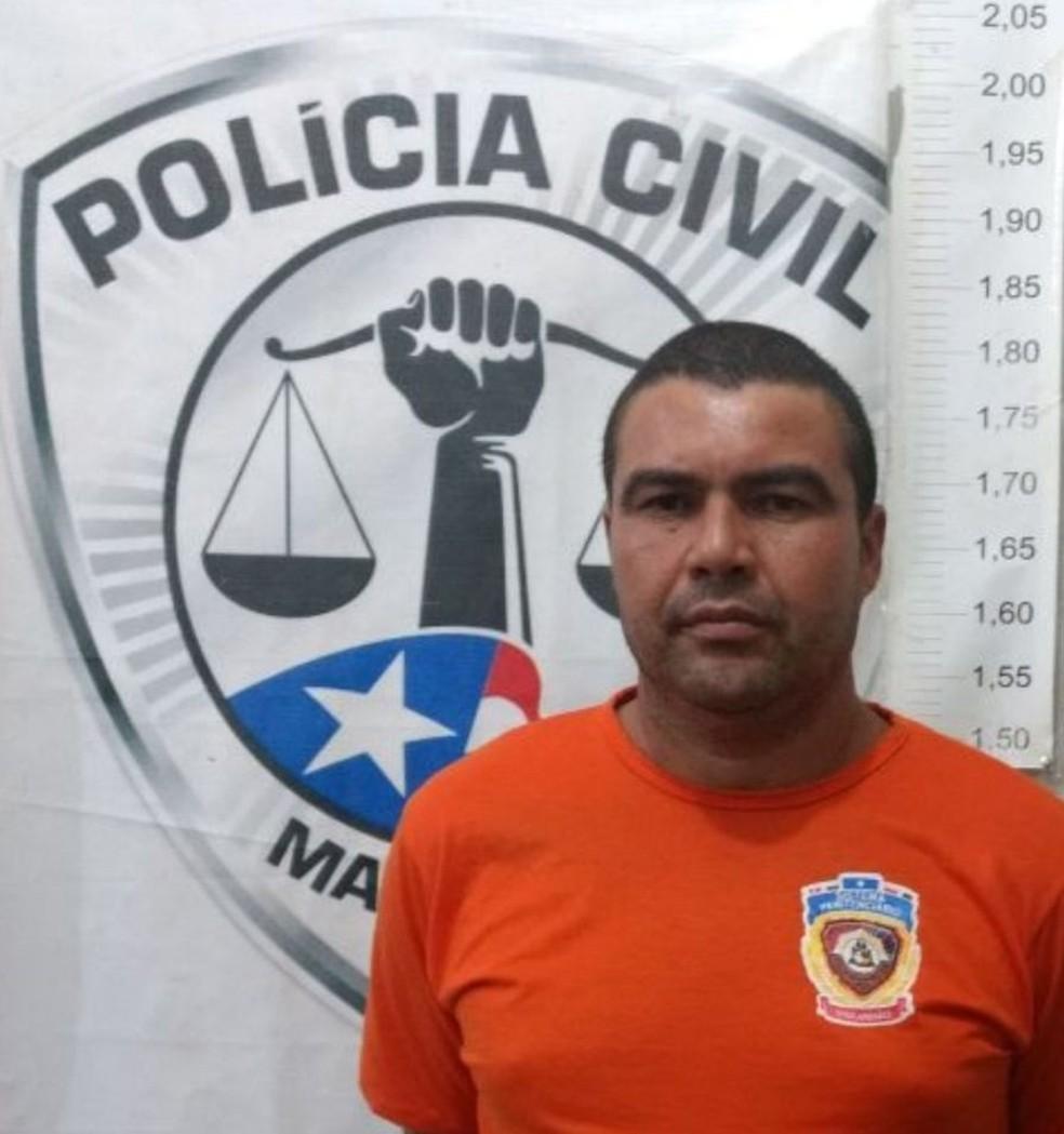 Luzivan Rodrigues da Conceição Nunes, conhecido como 'Luizão', foi preso por ser um dos suspeitos do crime. (Foto: Reprodução/TV Mirante)