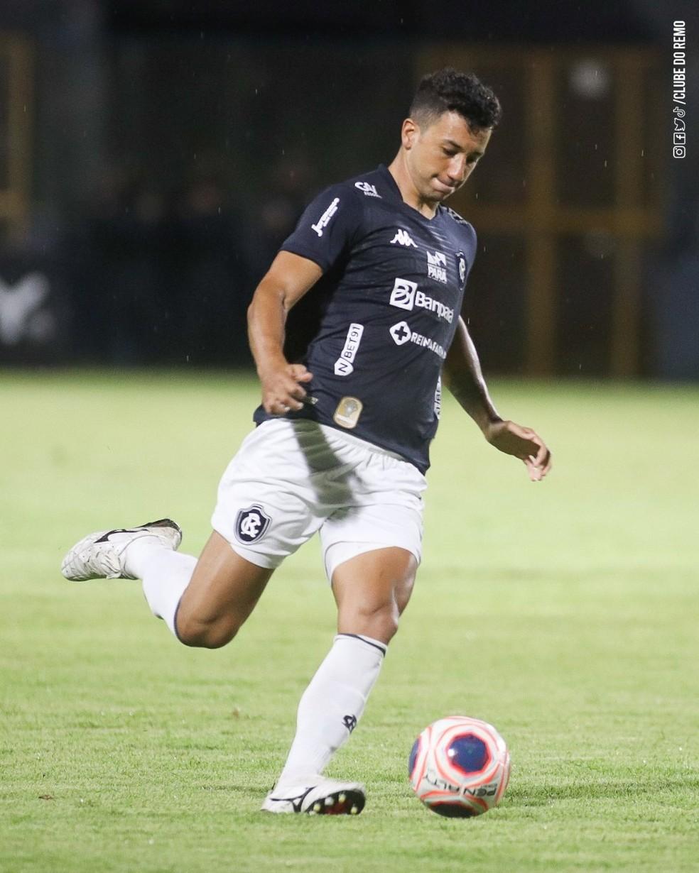 Renan Oliveira já pensa na sequência da Copa do Brasil e no início da Série B — Foto: Samara Miranda