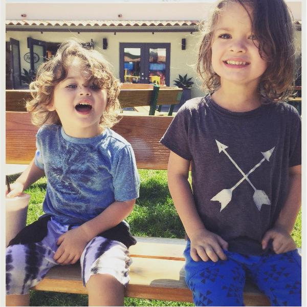 Noah e Bodhi, filhos de Megan Fox e Brain Austin Green (Foto: Instagram)