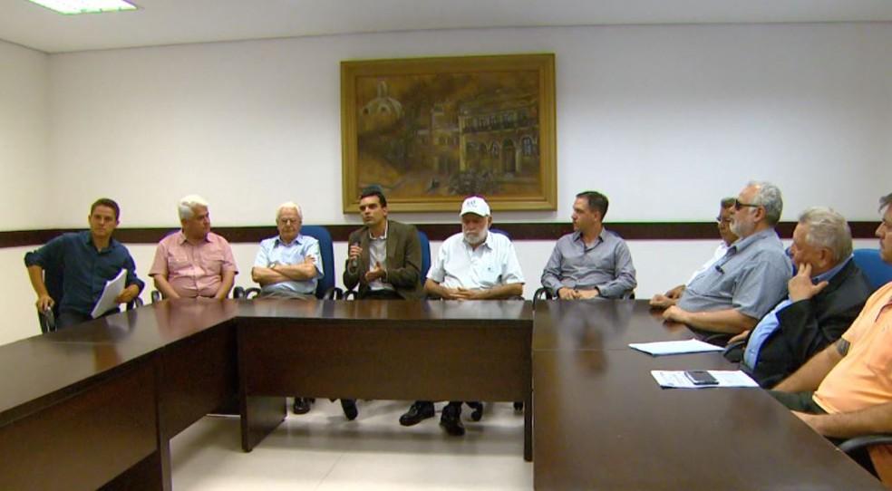 Prefeitura anuncia internacionalização do aeroporto de São Carlos (Foto: Reprodução/ EPTV)