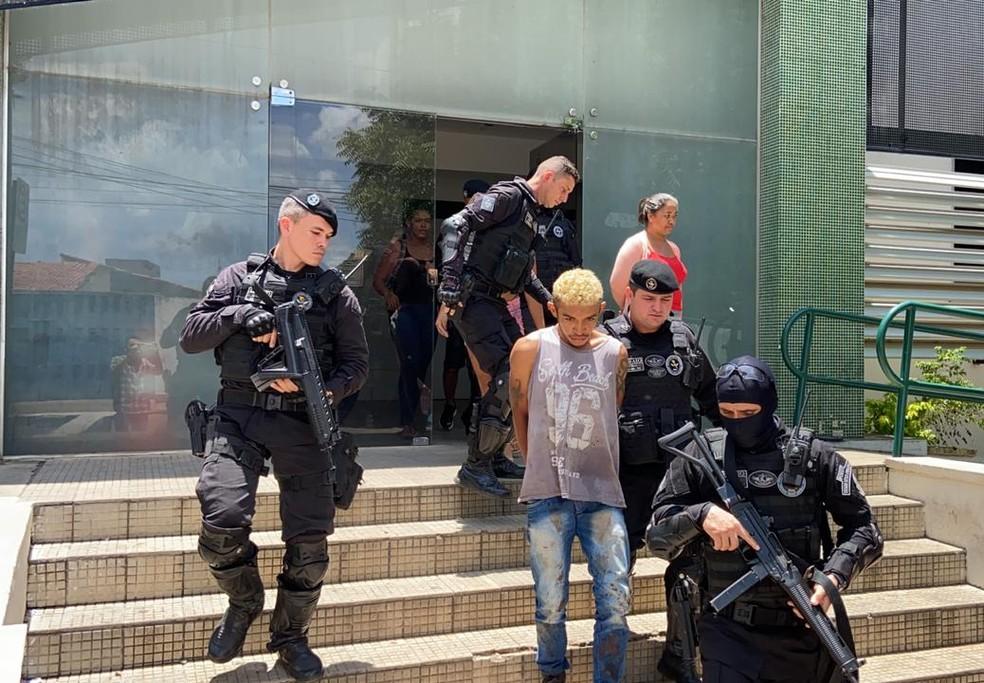 Cícero Fernandes Januário foi preso com a calça ensaguentada após diligências policiais.  — Foto: Arquivo Pessoal