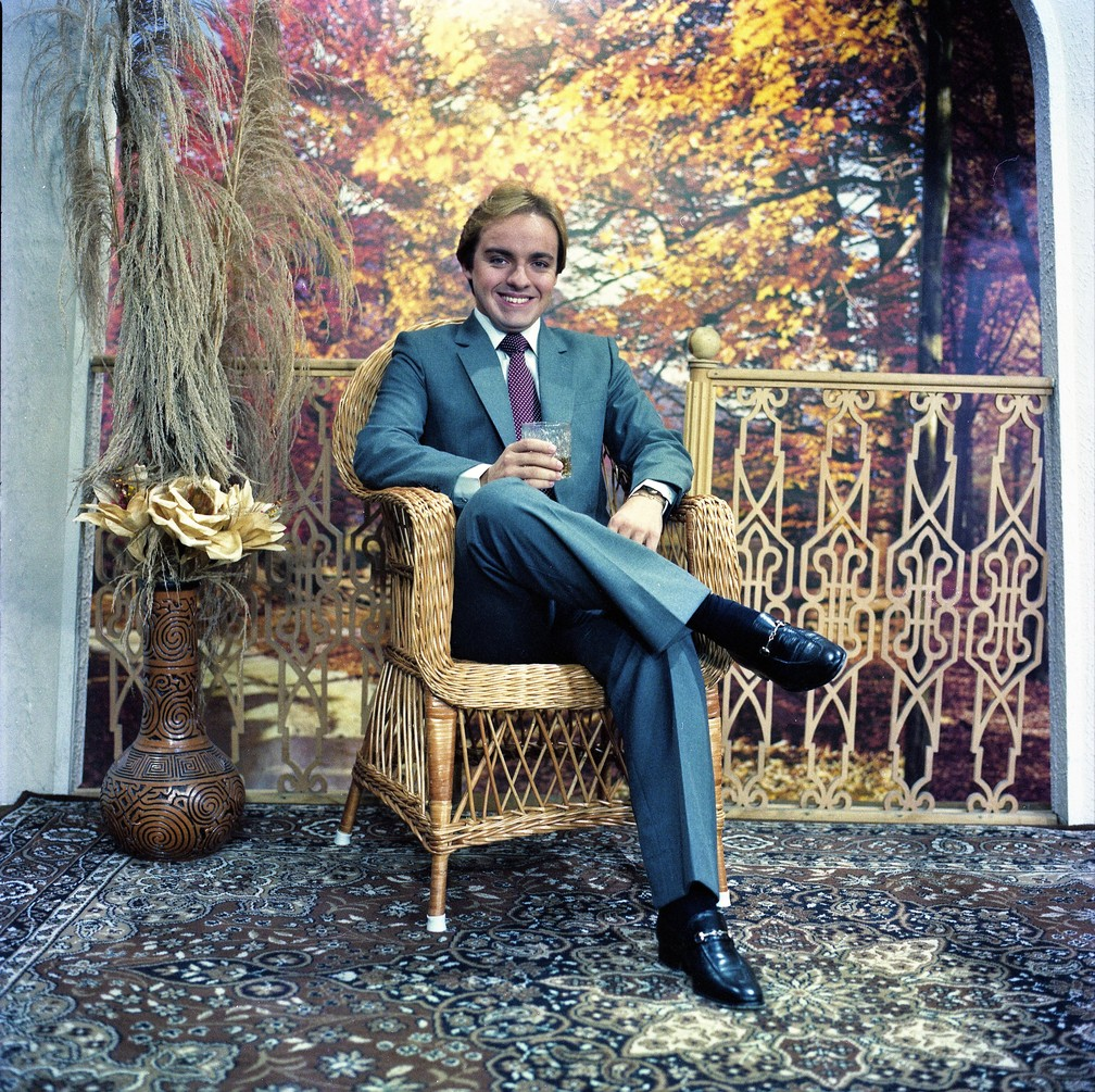 Gugu Liberato em foto de 1981 — Foto: Erasmo de Souza/Acervo do SBT