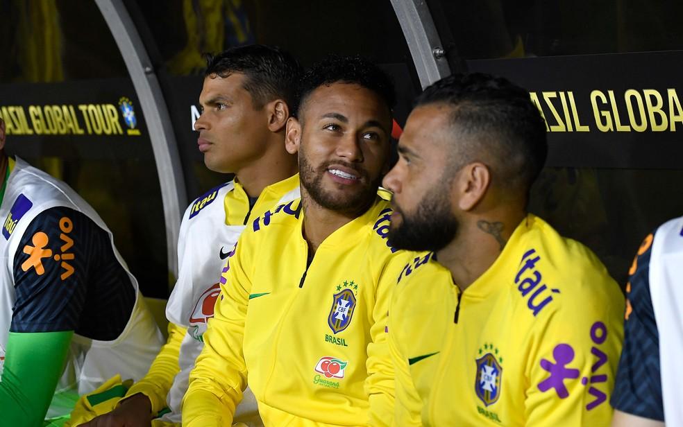 Neymar — Foto: KEVORK DJANSEZIAN / GETTY IMAGES NORTH AMERICA / AFP