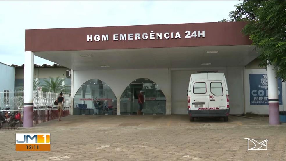 Suspeito continua internado no Hospital Geral Municipal de Codó — Foto: Reprodução/TV Mirante