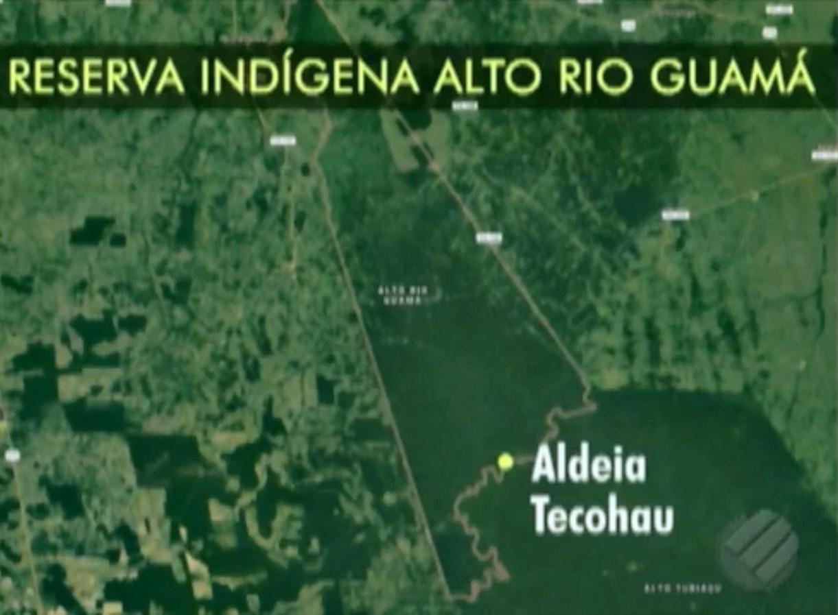 Força-tarefa chega à reserva florestal no Pará para mediar conflito entre indígenas e madeireiros