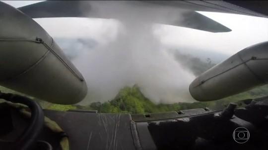 Aviões da FAB começam a atuar contra focos de incêndio na Amazônia
