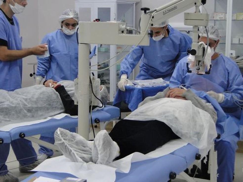 Secretaria de Saúde de Poços de Caldas afirma ter conseguido zerar fila de espera por cirurgia de catarata (Foto: Divulgação / Prefeitura de Poços de Caldas)