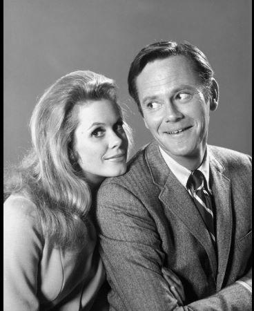 Elizabeth Montgomery e Dick Sargent e 'A Feiticeira' (1970) (Foto: Divulgação)