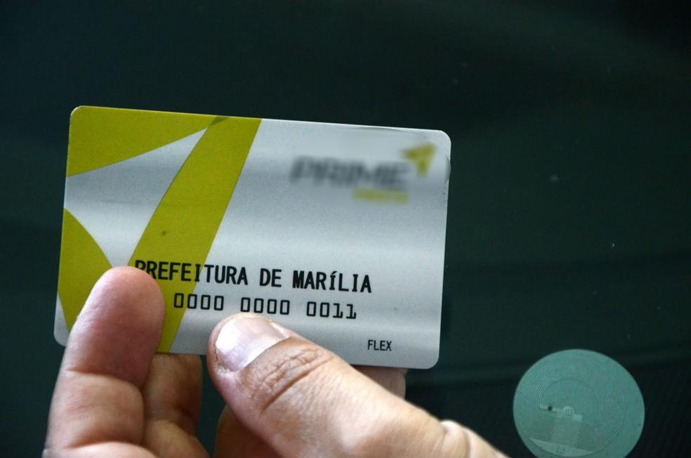 Prefeitura de Marília implantou sistema de controle de gastos com combustível através de cartões (Foto: Mauro Abreu/Prefeitura de Marília)