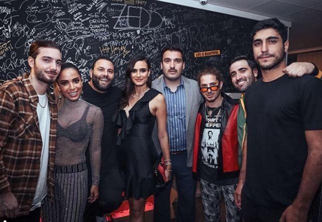Anitta nos bastidores de show em Miami (Foto: Reprodução/Instagram)