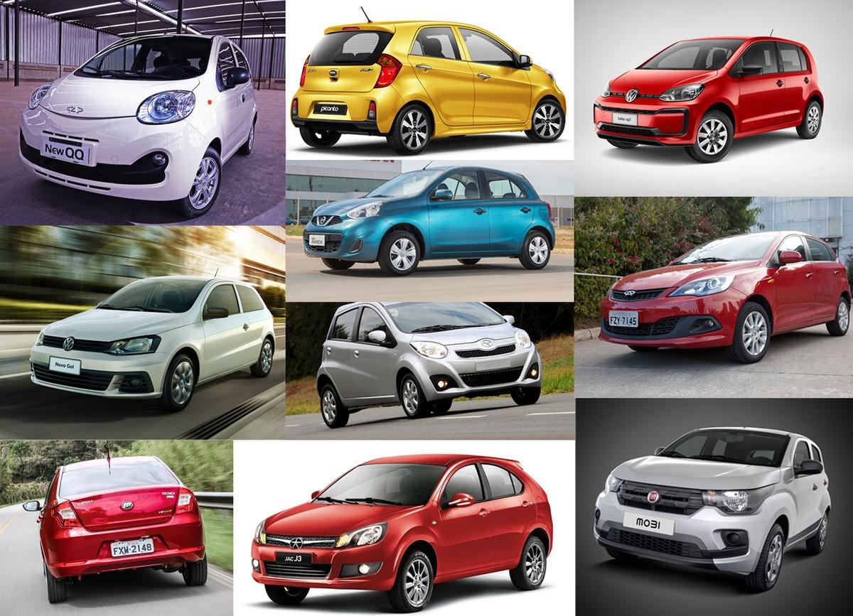9be7370efa222 LISTA  veja os 10 carros zero mais baratos do Brasil   Auto Esporte   G1