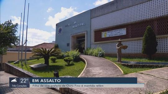 Filha do vice-prefeito de Ouro Fino é feita refém durante assalto