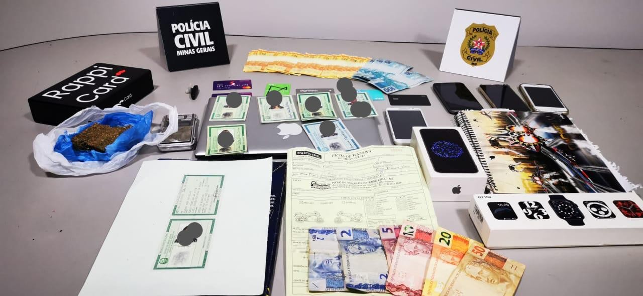 Casal de 18 e 19 anos é preso suspeito de aplicar golpes em Patos de Minas