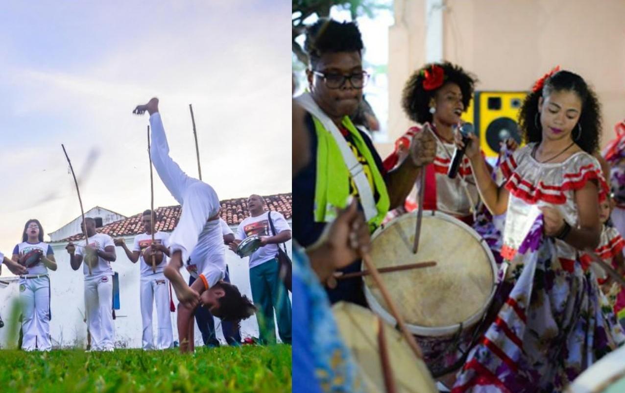 Marabaixo e capoeira são festejados no Amapá com 'mini ciclo', exposição e feira afro