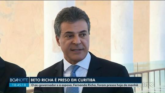 O ex-governador Beto Richa é preso na operação Rádio Patrulha do Gaeco