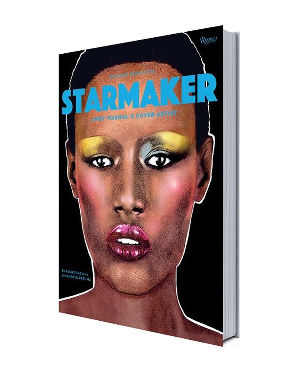A capa do livro com Grace Jones, que escreve o prefácio.  (Foto: Divulgação)